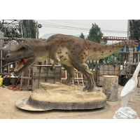 Buy cheap Fiberglass Dinosaur Statue Garden Resin Animals Tyrannosaurus Sculpture from wholesalers