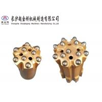 China Professional Button Drill Bit With Flat Face Shape And Drop - Center Face Shape factory