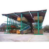 Buy cheap 4650 Kg Per Arm Cantilever Steel Storage Racks Rows With Stacker Cranes from Wholesalers