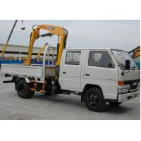 Buy cheap Durable 2T Hydraulic Driver Lorry Mounted Crane, Cargo Crane Truck from wholesalers