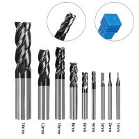 China 4 Flute Cutting Tools CNC 0.01mm Carbide End Mill factory