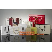 China High Quality And Fancy Customized Black Printed Luxury Gift Paper Shopping Bag factory