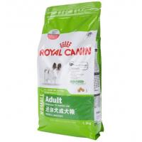 Commercial Animal Food Packaging , Custom Stand Up Zip Lock Pouch Bags Various Color
