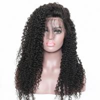 China 130% Density Curly Lace Front Human Hair Wigs Natural Hairline With Baby Hair factory