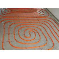 Buy cheap Flexible 20mm Underfloor Heating Pipe , Transparent White Pert Pipe For Hot Water from Wholesalers