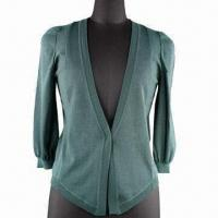 Buy cheap Women's Cardigan with Half Sleeves from wholesalers