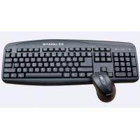 China 5V 100mA   rf Cordless USB Keyboard and mouse with trackball  for laptops WES-K-002 on sale