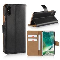 China iPhone XS Case, iPhone 8 Wallet Case, Premium PU Leather Flip Cover with Card Slot for iPhone 5/6/7/8/X/XS/XS MAX/XR factory