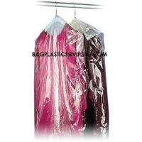China Garment Cover, Clear Poly Dry Cleaning Bags, disposable garment bags, Custom Poly Bags factory