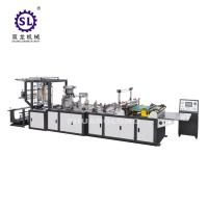 China Computer Control Zipper Lock Bag Making Machine 20-120pcs/min Speed factory