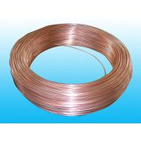 Buy cheap Cold Drawn 4 * 0.5mm Coating Copper Single Wall Pipe ISO9001 / ISO14001 from Wholesalers