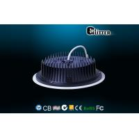 China PWM IP65 22W Dimmable LED Fire Rated Downlights Black With High Lumen on sale
