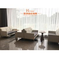 Buy cheap Modern Commercial Hotel Furniture , Leisure Sofa Chair With Metal Leg Fabric Upholstery from Wholesalers