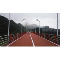 China Anti Aging EPDM Jogging Track , UV Resist Coloured Rubber Crumb Thickness 13-15mm factory