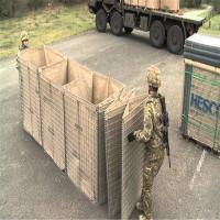 China Defensive bastion hesco barriers for military sand wall/hesco barrier/hesco bastion/hesco barrier price for sale factory