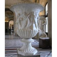 China Marble Flowerpot for building or garden factory