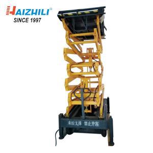 China 1000kg 14 Meter Mobile Scissor Lift Platform For Outdoor Construction Work on sale