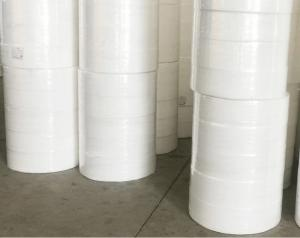 China White color melt-blown filter non-woven fabric textile material fabric woven fabric,Factory supply bfe99 meltblown nonwo factory