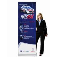 Buy cheap Classic Rolla Retractable Display Banners Including Printed banner and Aluminum Base from Wholesalers
