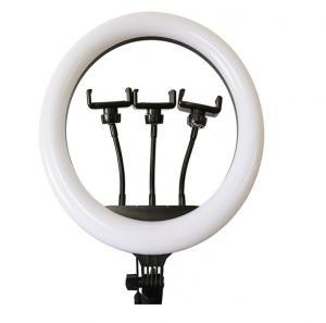 China 14inch selfie ring light  streamer led light smartphone holder factory