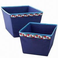 China Braided storage totes, made of polyester or olefin factory