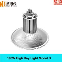 Buy cheap 100W high bay light fixture led with CREE and MEANWELL Driver 3 years warranty from Wholesalers