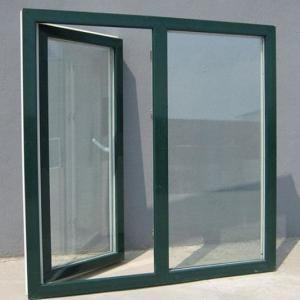 China Hidden Hinge Aluminium Frame Casement Window Anodized Aluminum Windows factory