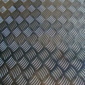 China Five Bars 4mm Ship Floor 5052 H112 Aluminium Checker Plate factory