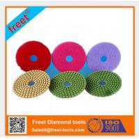 Buy cheap 50-3000 grit diamond angle grinder polishing pad from Wholesalers