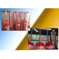 Buy cheap 5.6Mpa Industrial Fm200 Fire Extinguisher System With 70L Cylinder from Wholesalers