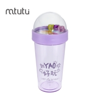 China Mtutu School Funny Dice Personalized Creative Water Bottles factory