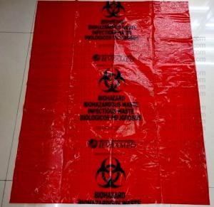 China Biohazard Waste Bags, Biohazard Garbage, Waste Disposal Bag, Blue bags, sacks factory