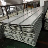 China 0.6mm ivory white 1050mm corrugated roof sheets for poultry house factory