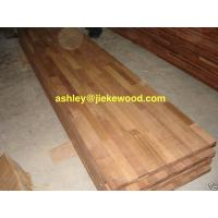 China Merbau solid wood panel finger jionted panels countertops table tops butcher block tops kitchen tops on sale