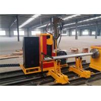 Buy cheap Manufacture Industry Plasma Oxyfuel Cutting and Beveling automatic copper tube cutting machine,cnc steel pipe cutting ma from Wholesalers