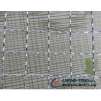 China 10mm, 12.7mm, 20mm Opening Crimped Wire Mesh for Producing Barbecue Grill factory