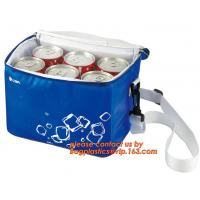 Buy cheap polyester cheap simple insulated cooler bag for food, Promotional custom recyclable aluminum foil picnic insulated lunch from Wholesalers