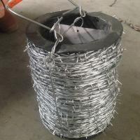 Buy cheap Normal Twisted Electric Galvanized Barbed Wire Security Barbed Wire Fencing In Bucket from Wholesalers