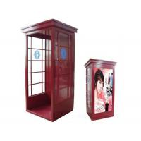 Buy cheap Metal And Glass Detachable Acoustic Telephone Hood / Telephone Booth from Wholesalers