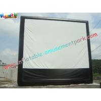 China Large Inflatable Projection Screen Outdoor Movie Theater For Christmas Decorations on sale