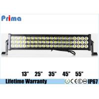 China Super Bright 3 Rows Led Car Light Bar Three Rows Jeep Heavy Duty Lights on sale