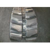 China Rubber track for Komatsu PC75 / PC75R.2 (450 x 76 x 80) with joint free inner steel  factory