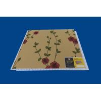 Buy cheap Artistic Indoor PVC Wall Panel Luxury Flower Laminate Wall Sheets from Wholesalers