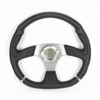 China Car Steering Wheel, Easy to Control from Different Angles factory