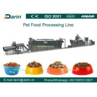 Buy cheap Dog Fish Cat Pet Food Extruder equipment / machine , Dry pet food machinery from Wholesalers