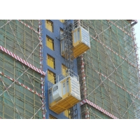 China Helical Reducer Cage 450M Construction Material Hoist factory