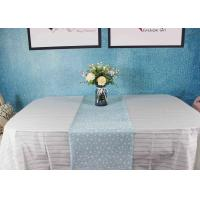 China Super Soft Biodegradable Disposable Paper Tablecloth For Party Decoration factory