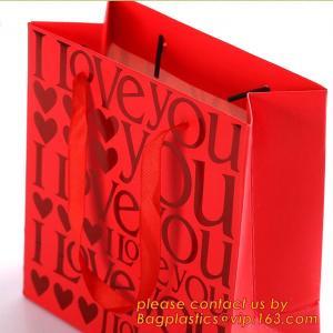 China perfume paper bag, Paper packaging bag for make up, custom made paper bags, Custom packaging paper bags with drawstring, factory