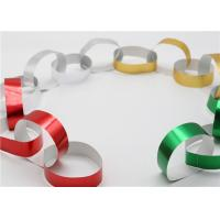 China Handy Gummed Wedding Paper Chains Multi Color Available Eco - Friendly Material factory