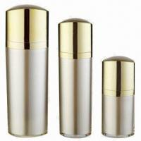 China Cosmetic Acrylic Bottles for Skin Care Cream, Various Colors are Available, OEM Orders are Welcome factory